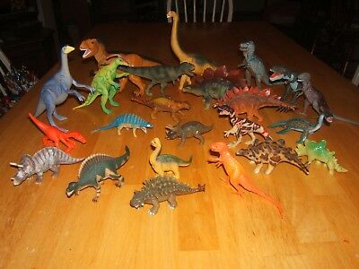 Toys & Hobbies Lot Of Small Dinasaurs B22 Animals & Dinosaurs