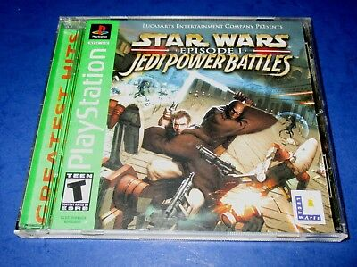 Star Wars: Episode I: Jedi Power Battles Playstation -PSX - *CIB! - *Free Ship!