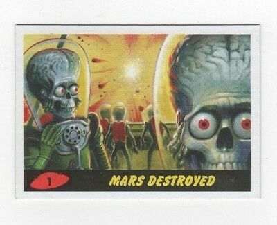 2017 Mars Attacks Revenge complete base & pencil set 1-55 total 110