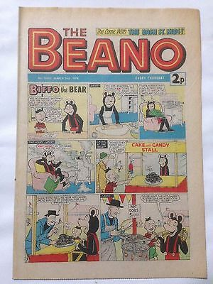 DC Thompson THE BEANO Comic. Issue 1650 March 2nd 1974 **Free UK Postage**