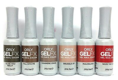 ORLY GELFX GEL NAIL POLISH- THE NEW NEUTRAL - Choose Any Color 0.3oz ...