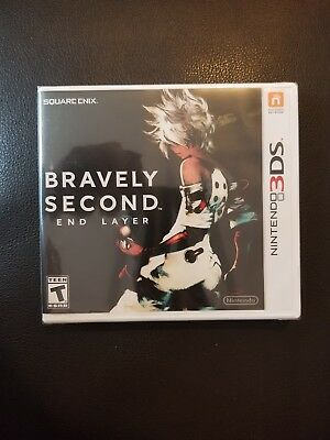 Bravely Second: End Layer Nintendo 3DS NEW SEALED. Free SHIPPING