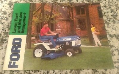 Ford Lawn and Garden Equipment Brochure
