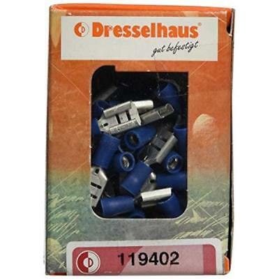 Dresselhaus Cable Connector Insulated Spade Connectors 8.2x 0.8mm 11x 9402-