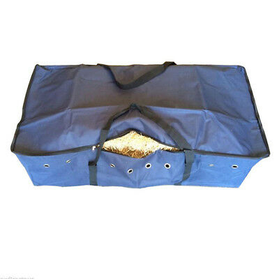 BLUE HAY BALE BAG Carry Storage Water Ski Wake Board Camping Horse Riding Gear L