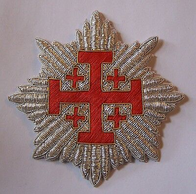 Medieval Crusades Knight Templar Sepulchre Church War Star Cross God Holy Land X
