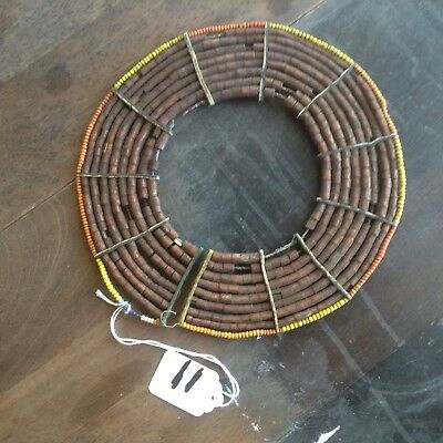 african antique pokot marriage necklace Tree Bark beads bead necklaces