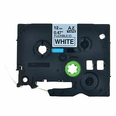 1PK Black on White Label Tape For Brother P-Touch TZe-FX231 12mm x 8m US STOCK