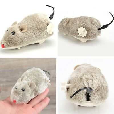 RC Toys Wireless Winding Mechanism Rat Mouse Mice Cat Toy For Cat Dog Pet Trick