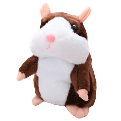 15/18cm Talking Hamster Mouse Pet Plush Toy Speak Sound Record for Children Baby