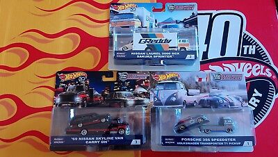Hot Wheels Car Culture Team Transport   Choise/Choix lot ou à l'unitè ( N23)