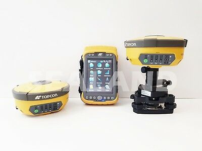 Topcon Hiper II Base & Rover GPS with Tesla - Reconditioned