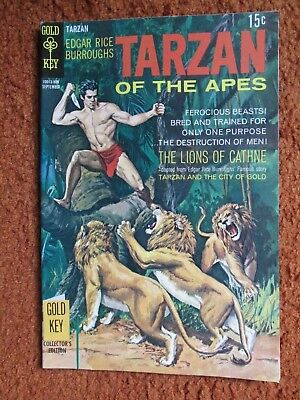 Tarzan of the Apes Gold Key comic by Edgar Rice Burroughs no. 187 Sept 1969 EF