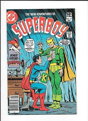 New Adventures Of Superboy #17 (Fn-) Dc Bronze