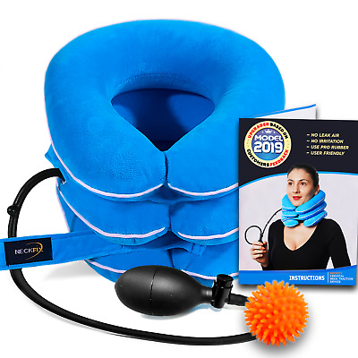 Cervical Neck Traction Device for Instant Neck Pain Relief [FDA Approved]
