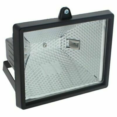 400W Floodlight Security Halogen Light with PIR Motion Sensor