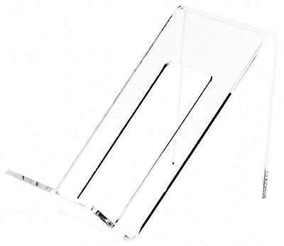 """Plymor Brand Clear Acrylic Cell Phone Display Stand/Easel, 2"""" W x 3.5"""" D ... New"""