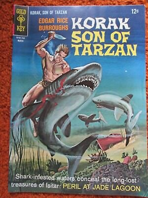 Korak Son of Tarzan Gold Key comic by Edgar Rice Burroughs no. 16 March 1967 VF