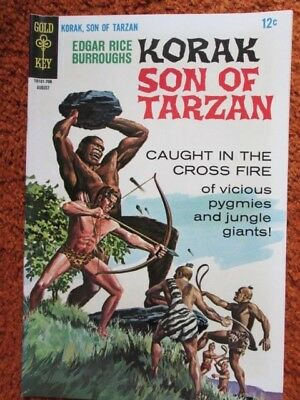 Korak Son of Tarzan Gold Key comic by Edgar Rice Burroughs no. 18 August 1967 EF