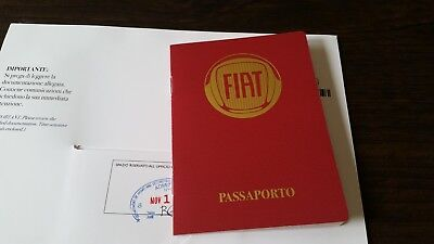 "2012 Fiat 500 ""Passport"" Brochure"