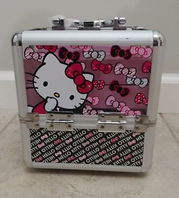 sold out Hello Kitty Train Cosmetic Case
