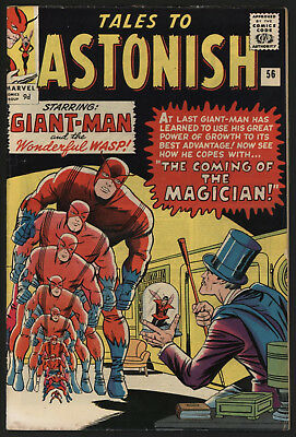Tales To Astonish #56 Jun 1964, Glossy, Tight, Off White/ White Pages