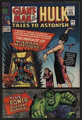 Tales To Astonish #66 Apr 1965,  Off White / White Pages,