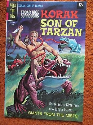 Korak Son of Tarzan Gold Key comic by Edgar Rice Burroughs no. 23 June 1968 VF