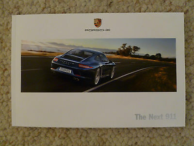 "2011 Porsche 911 ""The Next 911"" Showroom Sales Brochure RARE!! Awesome L@@K"