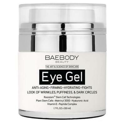 Baebody Eye Gel for Dark Circles, Puffiness, Wrinkles and Bags (BNIB) 1day post