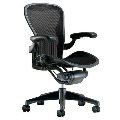 herman miller aeron chair replacement seat pan 3d01 graphite medium