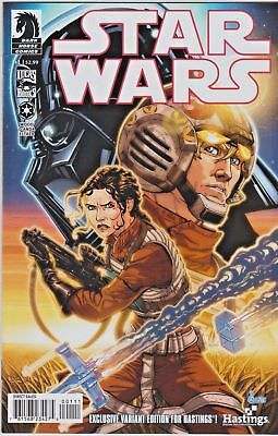 Star Wars #1 GO Hastings Variant Dark Horse First Print NM LOW PRINT
