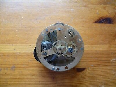Vintage clock movements for spares or repair