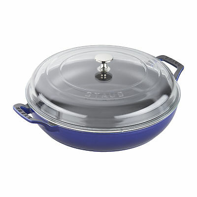 Staub Cast Iron 3.5-qt Braiser with Glass Lid - Visual Imperfections