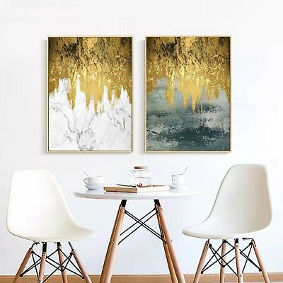 Abstract Art Tree Ink Painting Nordic Canvas Poster Wall Decor A245 Unframed