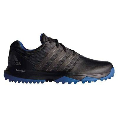 NEW Adidas Mens 360 Traxion Golf Shoes Black / Dark Silver Metallic - Pick Size