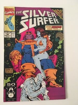 Silver Surfer #56 Oct 1991 Marvel NM