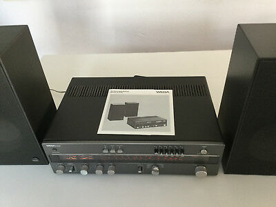 Receiver WEGA R 3140  mit original Lautsprechern / with original loudspeakers