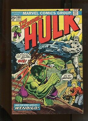 The Incredible Hulk #180 (5.0) 1St Wolverine In Cameo