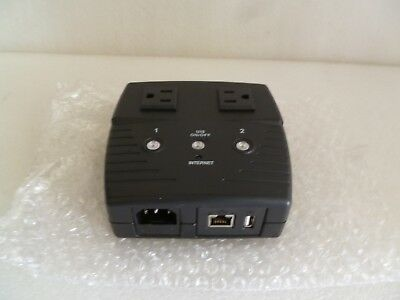 MSNSwitch Internet Enabled IP Remote Power Switch UIS-322b