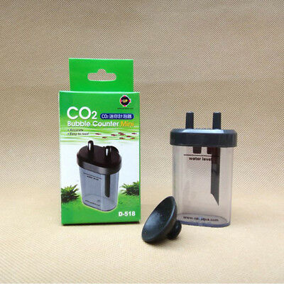 Mini Sucker CO2 System Bubble Counter Diffuser Plant Aquarium Tank
