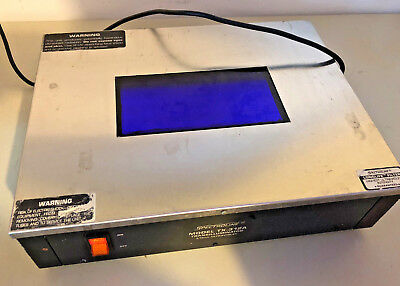 Spectroline Transilluminator TX-312A -- 312 mm ultraviolet; works great!