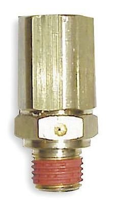 "PA-6 Load Genie Brass Air Compressor 1/4"" Self Unloading Check Valve Unloader"