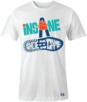 """/""""INSANE SHOE GAME/"""" T-shirt to Match Retro 5 /""""OLYMPIC/"""" Gold Medal"""