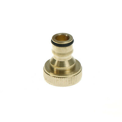 Universal Brass Refrigerant Adapter Connectors Charging Hose Pump RefrigerationH