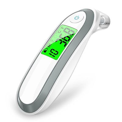 Ear and Forehead Thermometer Digital Medical Infrared Thermometer For Baby  W7S2