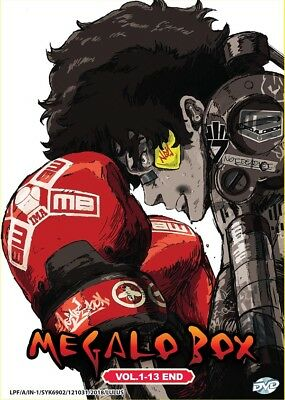 DVD Anime MEGALO BOX Complete Series (1-13 end) English Subtitle All Region
