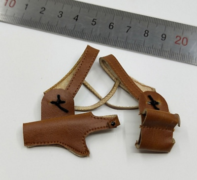 Brown Shoulder Holster for VStoys 18XG10 Sexy Student Uniform Set 1/6 Scale 12''