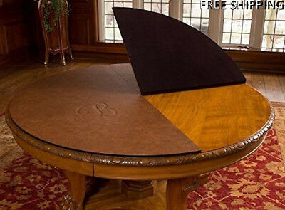 Custom made Table pads for dining room table includes leaf extensions Ships Free