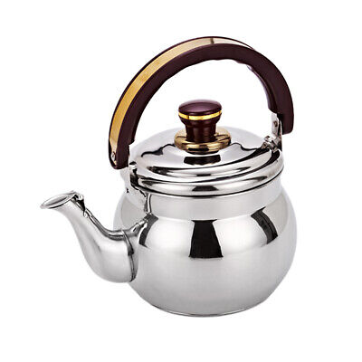 1.8L Stainless Steel Whistling Kettle Water Teapot Kitchen Stovetop